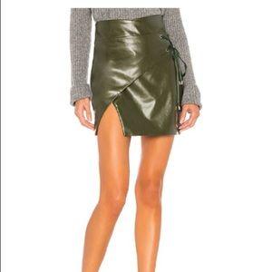 Mini skirt from Revolve